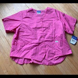 pink sorbet scrub top